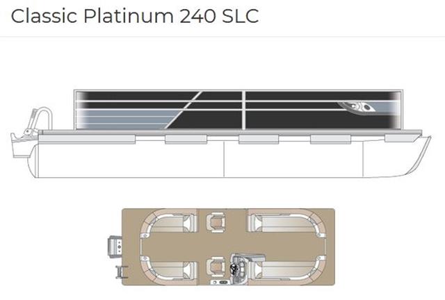 2022 Crest Classic Platinum 240 SLC at Fort Fremont Marine
