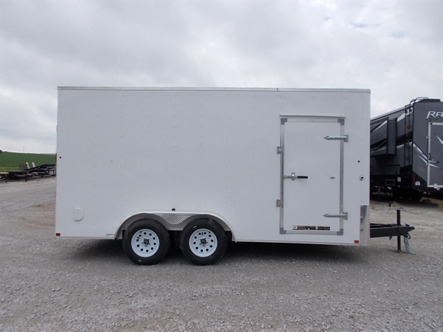 2019 Carry On 7X16CGRCM 7X18CGRBN 7000 LB. GVWR 7' ENCLOSED TRAILERS at Nishna Valley Cycle, Atlantic, IA 50022