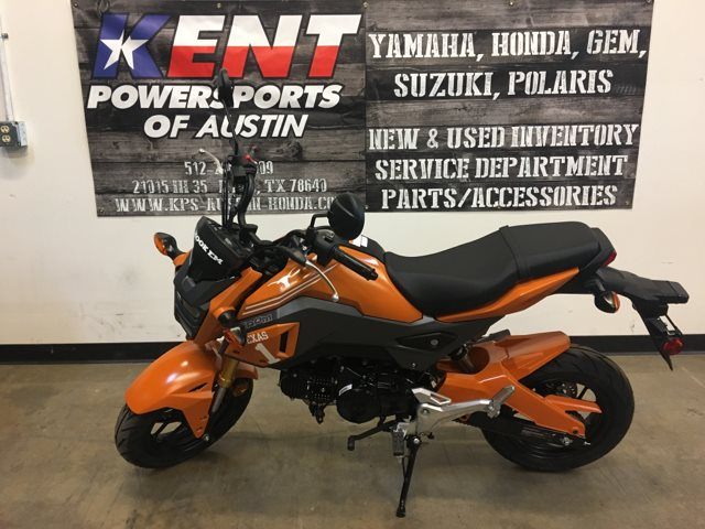 2018 Honda Grom U T Longhorn Custom at Kent Powersports of Austin, Kyle, TX 78640