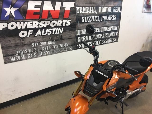 2018 Honda Grom U T Longhorn Custom at Kent Powersports of Austin, Kyle, TX 78640