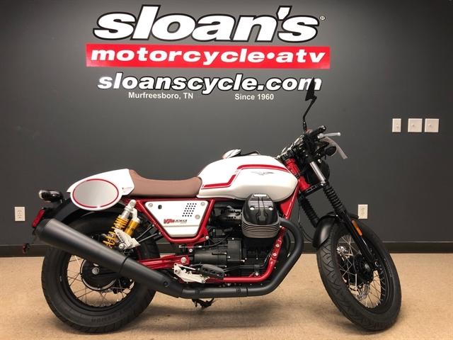 2020 Moto Guzzi V7 III Racer LE at Sloans Motorcycle ATV, Murfreesboro, TN, 37129