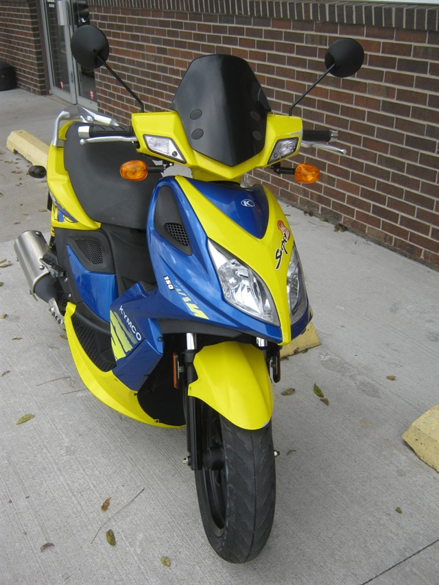 2009 KYMCO Super 8 150 at Brenny's Motorcycle Clinic, Bettendorf, IA 52722