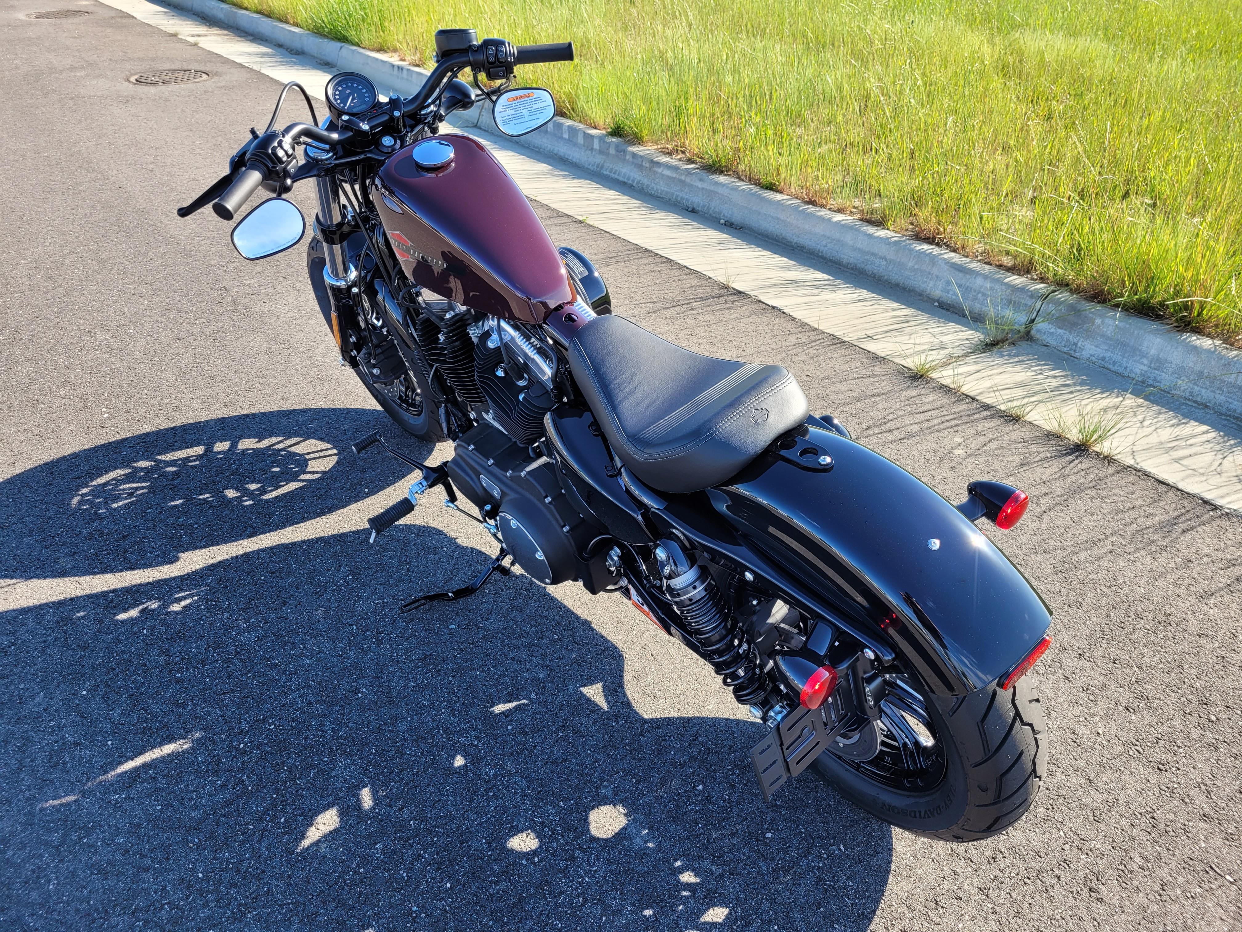 2021 Harley-Davidson Cruiser XL 1200X Forty-Eight at Richmond Harley-Davidson