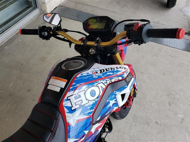 2019 Honda Grom Custom at Kent Motorsports, New Braunfels, TX 78130