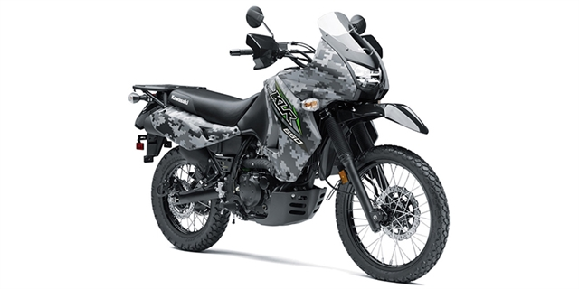 2018 Kawasaki KLR 650 Camo at Hebeler Sales & Service, Lockport, NY 14094