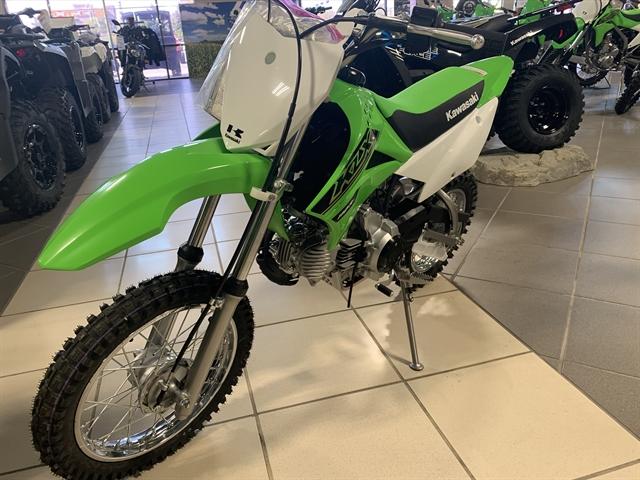2021 Kawasaki KLX 110R at Star City Motor Sports