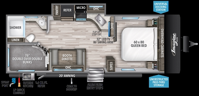 2020 Grand Design Imagine XLS 23BHE at Youngblood RV & Powersports Springfield Missouri - Ozark MO