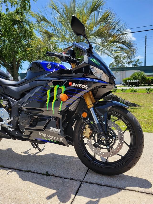 2021 Yamaha YZF R3 Monster Energy Yamaha MotoGP Edition at Powersports St. Augustine