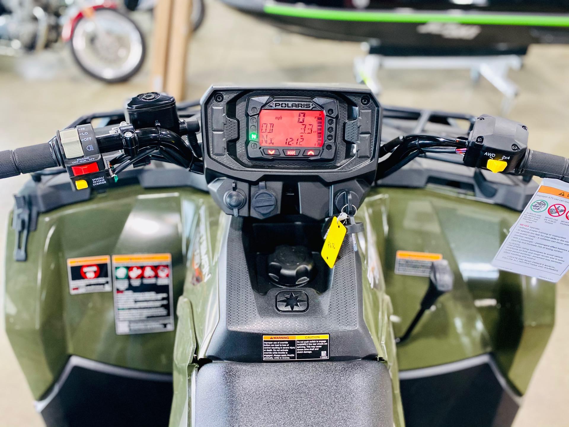 2021 Polaris Sportsman 450 HO Base at Prairie Motor Sports