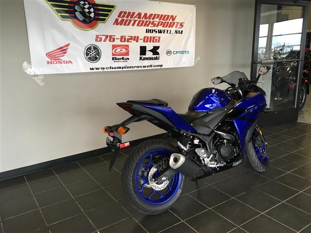2018 Yamaha YZF R3 at Champion Motorsports, Roswell, NM 88201