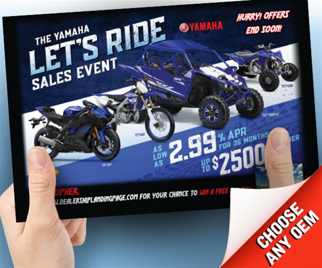 Yamaha Let's Ride Sales Event Powersports at PSM Marketing - Peachtree City, GA 30269