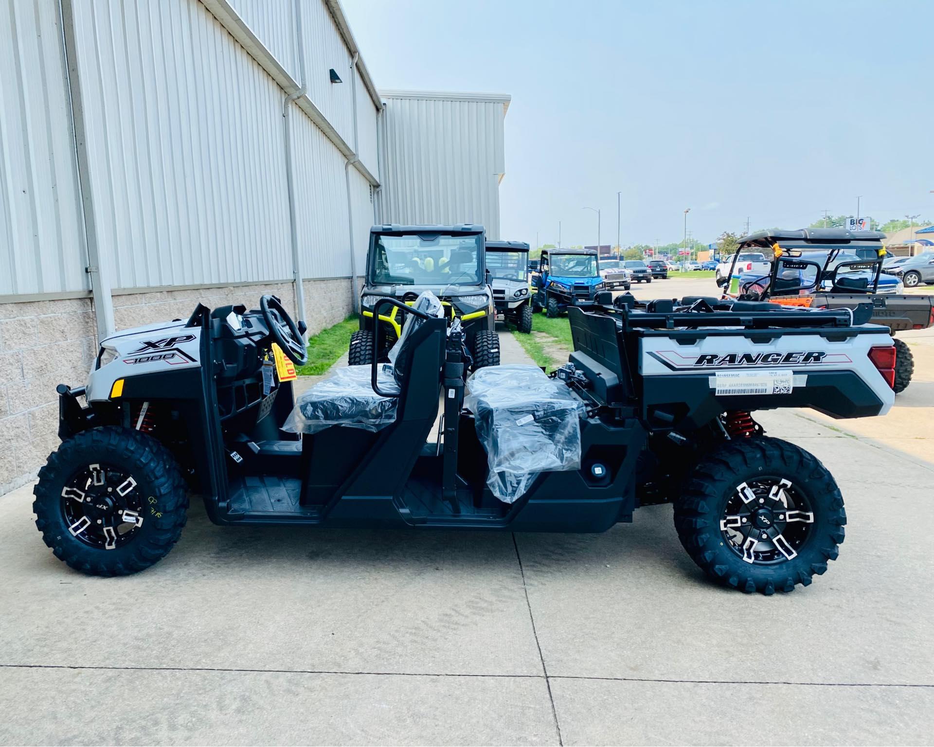 2021 Polaris Ranger Crew XP 1000 Premium at Rod's Ride On Powersports
