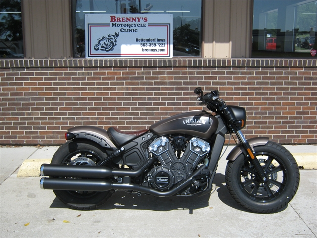 2018 Indian Motorcycle Scout Bobber at Brenny's Motorcycle Clinic, Bettendorf, IA 52722