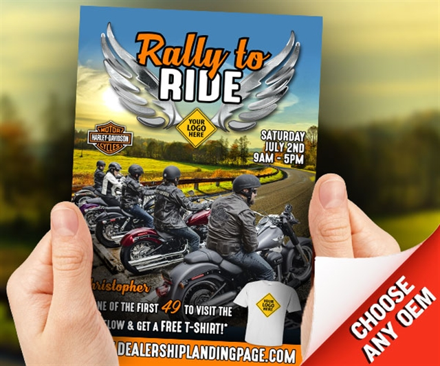 Rally to Ride Powersports at PSM Marketing - Peachtree City, GA 30269