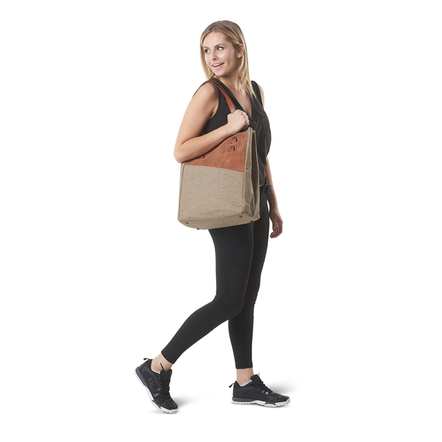 2018 511 Tactical Molly Shopper Tote Caramel w/ Taupe at Harsh Outdoors, Eaton, CO 80615