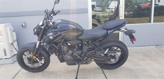 2021 Yamaha MT 07 at Powersports St. Augustine