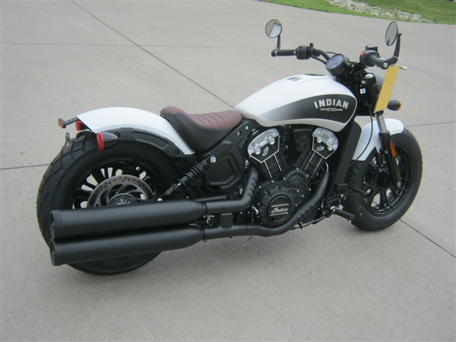 2019 Indian Motorcycle Scout ABS Bobber at Brenny's Motorcycle Clinic, Bettendorf, IA 52722