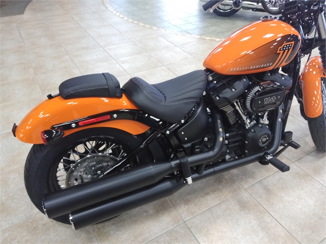 2021 Harley-Davidson Cruiser Street Bob 114 at M & S Harley-Davidson