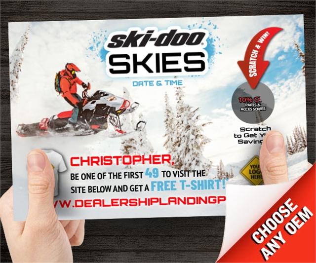 Ski-Doo Skies  at PSM Marketing - Peachtree City, GA 30269
