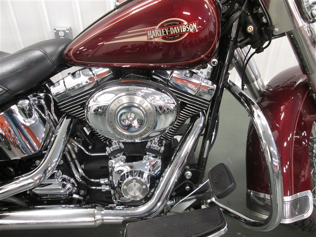 2008 Harley-Davidson Softail Heritage Softail Classic Under $10K at Hunter's Moon Harley-Davidson®, Lafayette, IN 47905