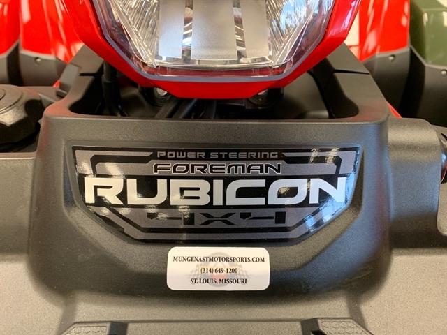 2020 Honda FourTrax Foreman Rubicon 4x4 EPS at Mungenast Motorsports, St. Louis, MO 63123