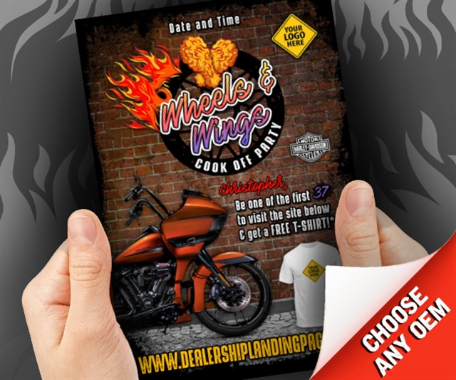 Wheels & Wings Cook Off Party Powersports at PSM Marketing - Peachtree City, GA 30269