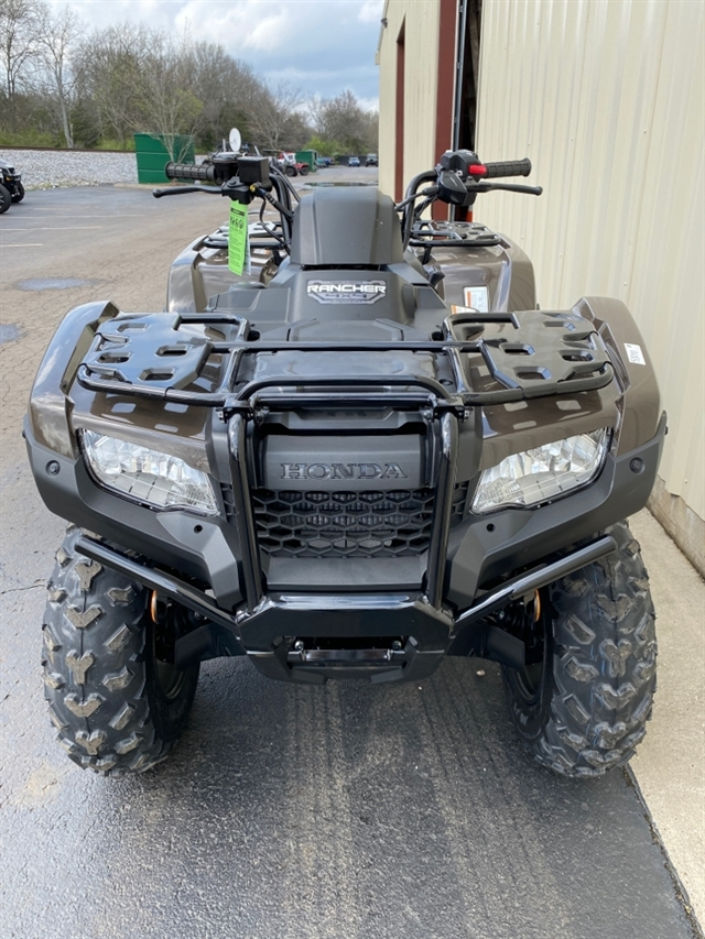 2020 Honda FourTrax Rancher 4X4 Automatic DCT IRS EPS at Sloans Motorcycle ATV, Murfreesboro, TN, 37129