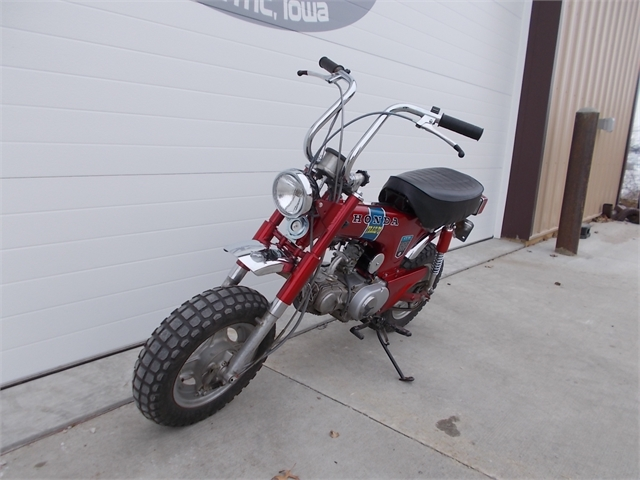1972 Honda Trail 70 at Nishna Valley Cycle, Atlantic, IA 50022