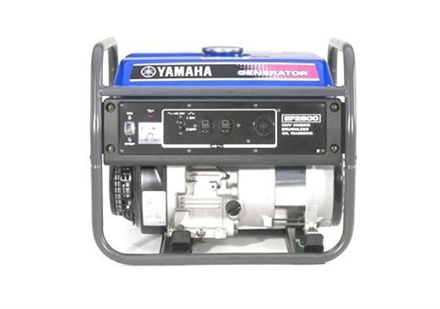2018 Yamaha Power Portable Generator EF2600 at Yamaha Triumph KTM of Camp Hill, Camp Hill, PA 17011