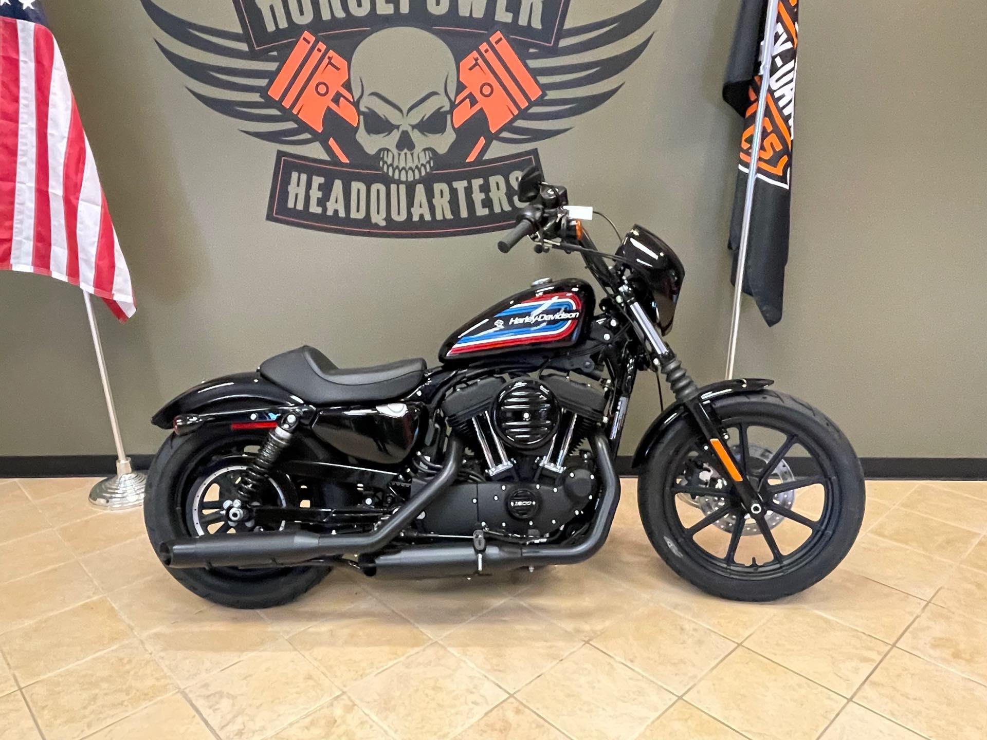 2021 Harley-Davidson Cruiser XL 1200NS Iron 1200 at Loess Hills Harley-Davidson