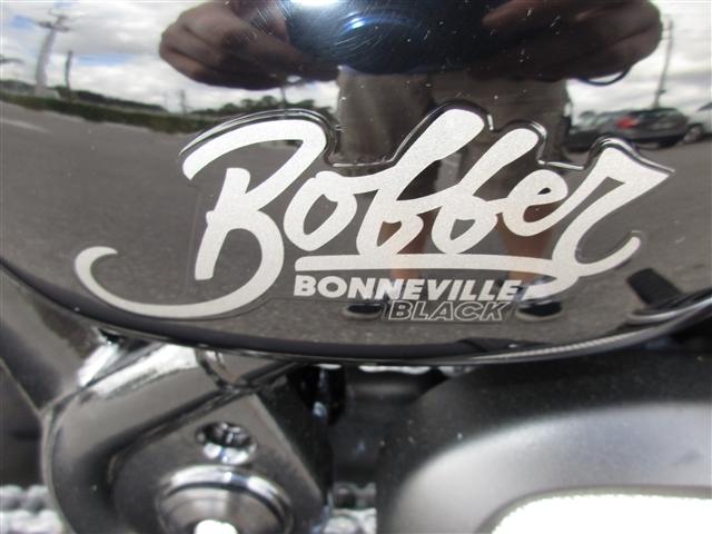 2019 Triumph Bonneville Bobber Black Jet Black at Stu's Motorcycles, Fort Myers, FL 33912