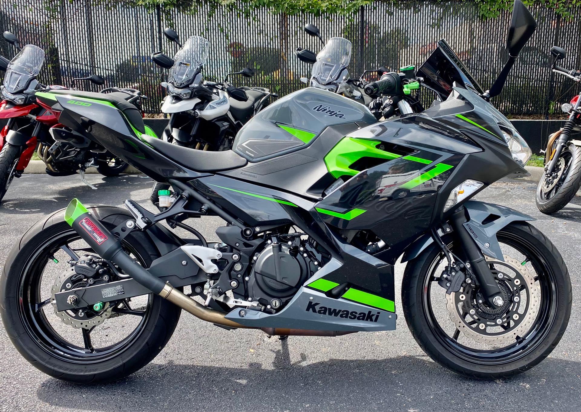 2019 Kawasaki Ninja 400 ABS at Tampa Triumph, Tampa, FL 33614