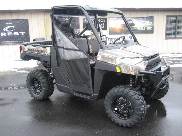 2021 Polaris Ranger XP 1000 Premium at Fort Fremont Marine