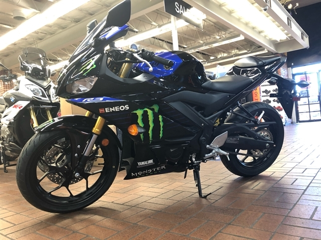 2021 Yamaha YZF R3 Monster Energy Yamaha MotoGP Edition at Wild West Motoplex