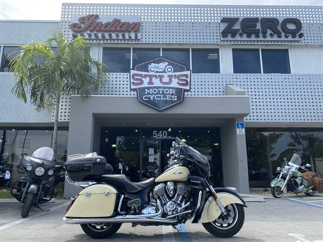 2017 Indian Roadmaster Base at Fort Lauderdale