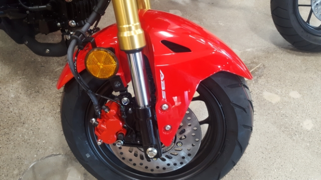 2018 HONDA GROM 125 ABS ABS at Genthe Honda Powersports, Southgate, MI 48195