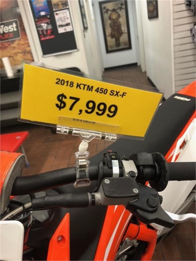 2018 KTM SX 450 F at Wild West Motoplex