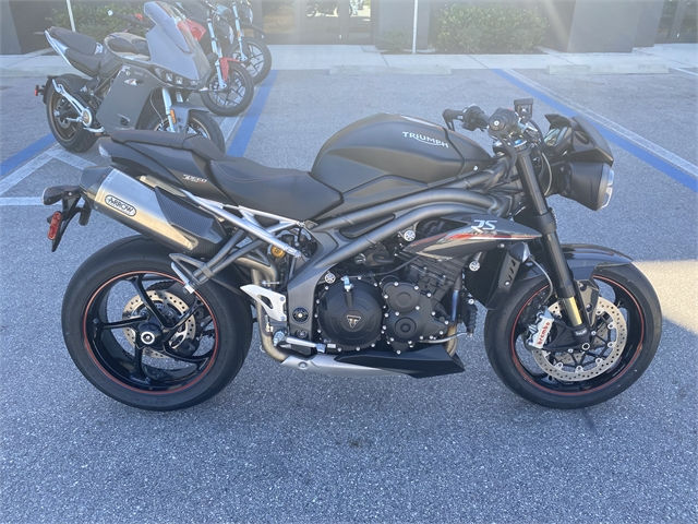 2019 Triumph Speed Triple RS at Fort Lauderdale