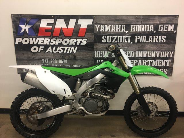 2012 Kawasaki KX 450F at Kent Powersports of Austin, Kyle, TX 78640