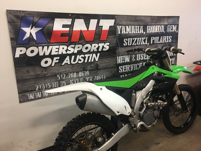 2012 Kawasaki KX 450F at Kent Powersports of Austin, Kyle, TX 78640