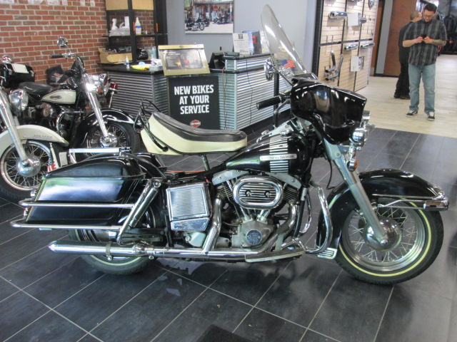 1973 Harley-Davidson 73FL at Garden State Harley-Davidson