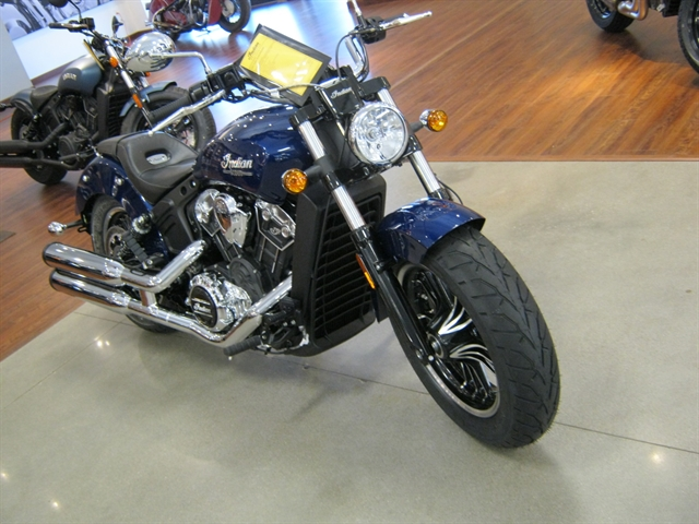 2021 Indian Motorcycle Scout ABS Deepwater Metallic at Brenny's Motorcycle Clinic, Bettendorf, IA 52722