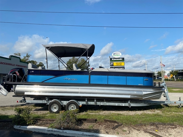 2021 MANITOU 25 OASIS SR SHP 373 at Jacksonville Powersports, Jacksonville, FL 32225