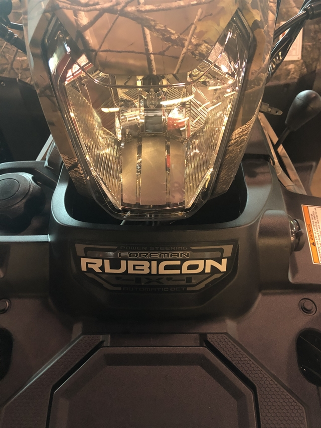 2020 Honda FourTrax Foreman Rubicon 4x4 Automatic DCT at Kent Powersports of Austin, Kyle, TX 78640