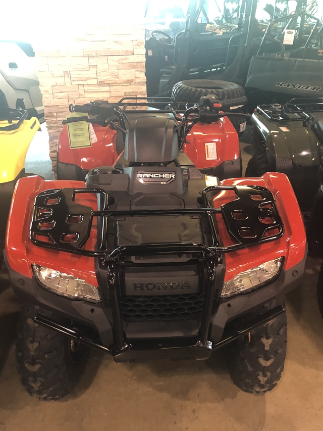 2020 Honda FourTrax Rancher 4X4 EPS at Kent Powersports of Austin, Kyle, TX 78640