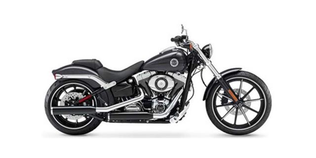 2014 Harley-Davidson Softail Breakout at Zips 45th Parallel Harley-Davidson
