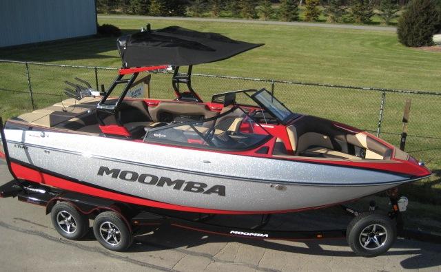 2019 Moomba Craz at Fort Fremont Marine Redesign
