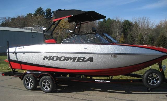 2019 Moomba Craz at Fort Fremont Marine, Fremont, WI 54940