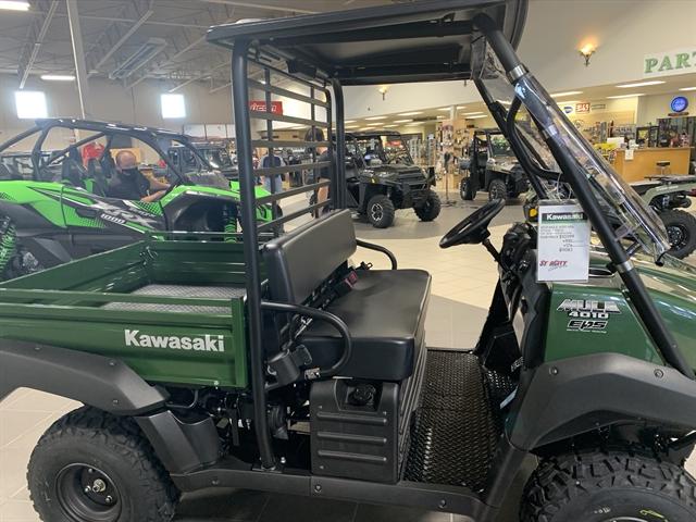 2021 Kawasaki Mule 4010 4x4 at Star City Motor Sports