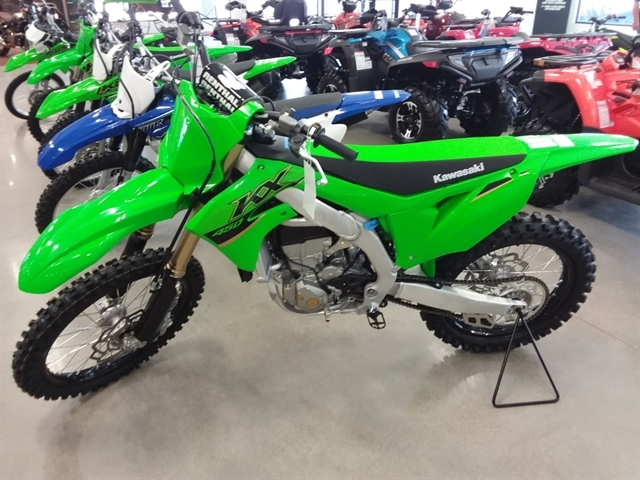 2022 Kawasaki KX450 at Brenny's Motorcycle Clinic, Bettendorf, IA 52722